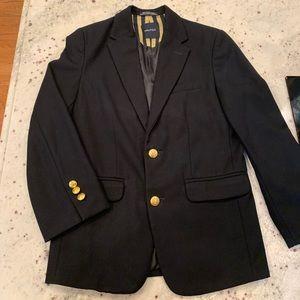 Nautical Boys Suit Jacket Black sz 10